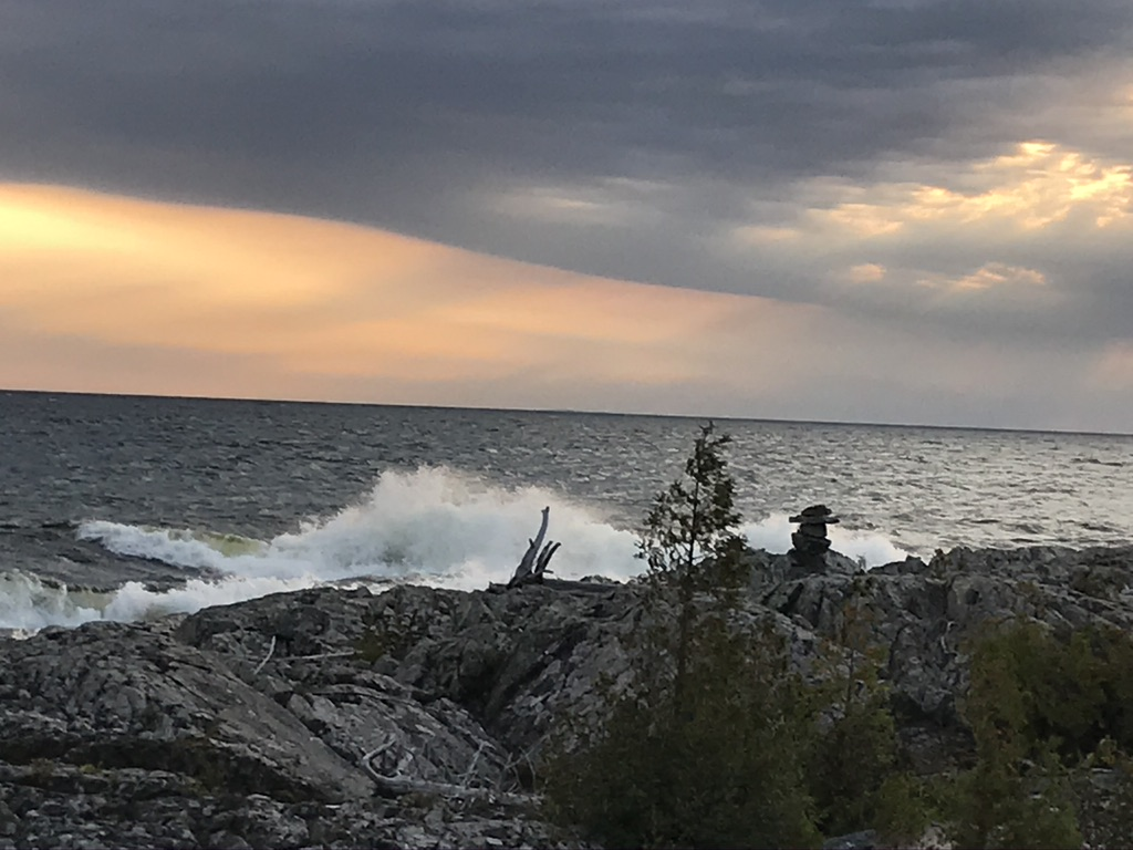 North of Lake Superior