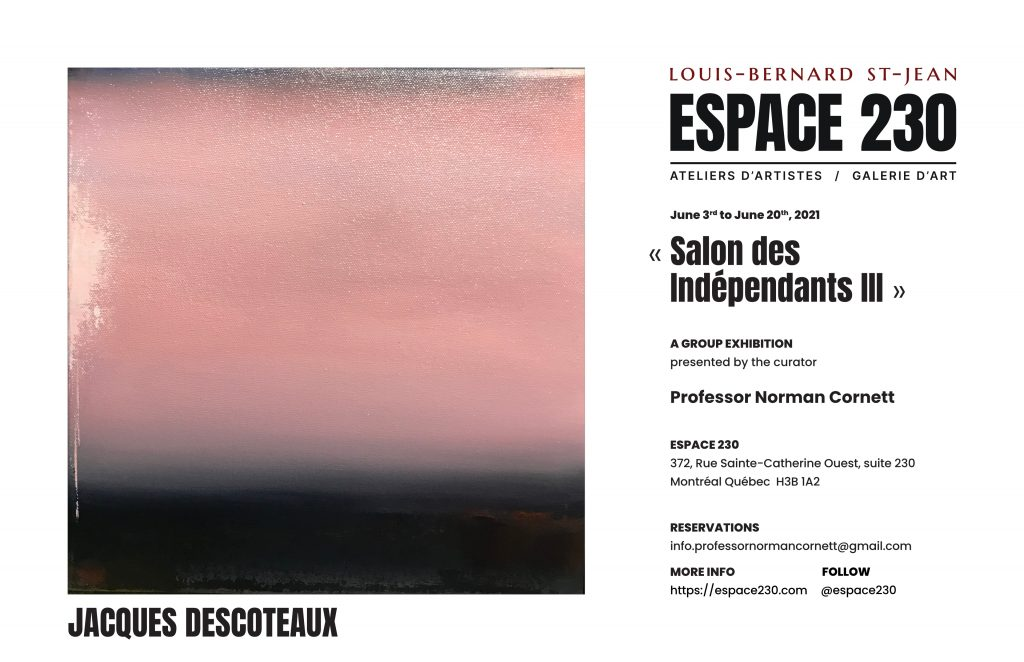 Group exhibition in Montreal